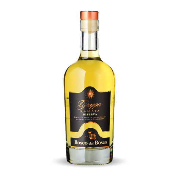 "Grappa Ramata Bosco del Bosco ""18 mesi in Barrique"" 45° Vol. - 50cl"